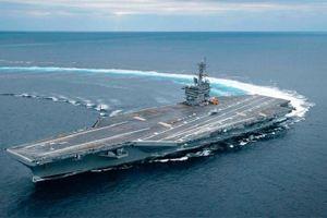 Tàu sân bay Mỹ không thể tiến vào Vịnh Ba Tư