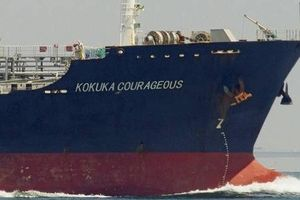 Vịnh Oman: Hai 'vật thể bay' đã tấn công tàu chở dầu