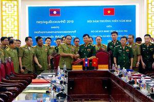 Hội đàm thường niên giữa BĐBP Quảng Trị với Ty An ninh tỉnh Salavan và Savannakhet