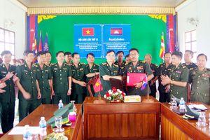 BĐBP Đắk Nông và Tiểu khu quân sự tỉnh Mondulkiri hội đàm bảo vệ biên giới