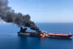 Mỹ cáo buộc Iran tấn công tàu dầu tại vịnh Oman