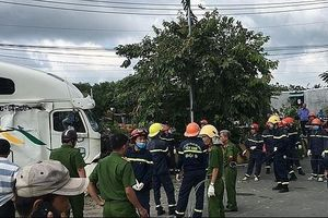 Tai nạn giữa container và ô tô ở Tây Ninh: Thêm 2 người tử vong