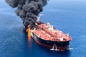 Mỹ tung video tố Iran đứng đằng sau vụ tấn công tàu chở dầu