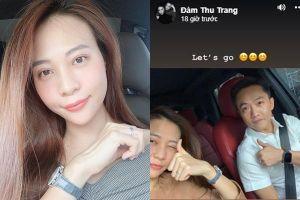 Đàm Thu Trang lên tiếng về tin đồn đã mang bầu với Cường Đô La
