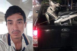 Cướp xe máy, dùng súng chống trả công an quyết liệt ở Quảng Ninh