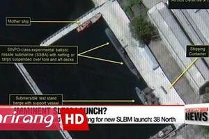 CHDCND Triều Tiên lại chuẩn bị thử tên lửa phóng từ tàu ngầm mới