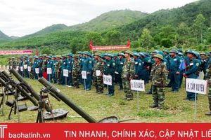 Hội thao phân đội pháo binh dân quân tự vệ huấn luyện giỏi năm 2019