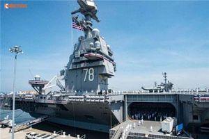 Không có khu trục hạm, tàu sân bay Mỹ tự bảo vệ mình ra sao?
