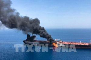 Sự cố tàu trên Vịnh Oman: Thủy thủ trên tàu Nhật nhìn thấy 'vật thể bay'