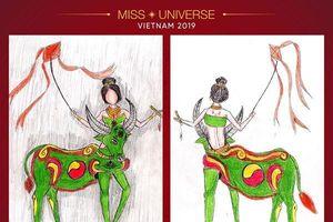 Buồn lòng khi loạt thiết kế trang phục dân tộc cho Hoàng Thùy bị bóc trần sự thật 'xấu xí'