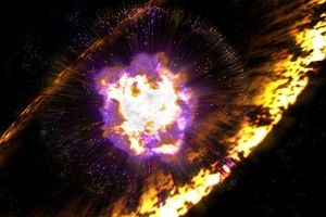 Vụ nổ này chính là lý do tại sao vàng lại có trên Trái Đất