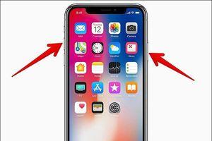 Cách chụp ảnh màn hình trên iPhone X, XS, XS Max và XR