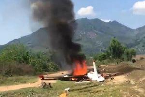 Bộ Quốc phòng thông tin vụ rơi máy bay huấn luyện khiến 2 phi công hy sinh