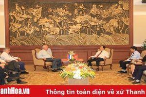 Đồng chí Bí thư Tỉnh ủy Trịnh Văn Chiến tiếp, làm việc với Đại sứ đặc mệnh toàn quyền Liên bang Nga tại Việt Nam