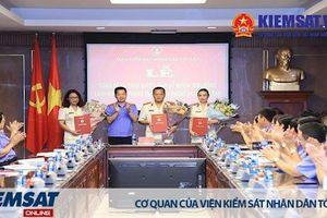 Công bố và trao quyết định bổ nhiệm các chức vụ lãnh đạo cấp Phòng thuộc Văn phòng VKSND tối cao
