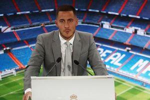 50.000 CĐV Real chứng kiến lễ ra mắt của Hazard