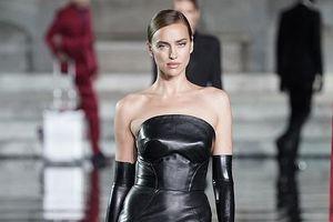 Irina Shayk 'biến hóa' liên tục trên sàn catwalk
