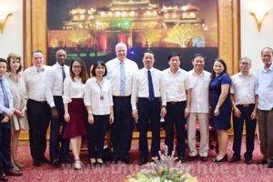 Tập đoàn HanesBrands (Hoa Kỳ) muốn mở rộng đầu tư tại Thừa Thiên Huế
