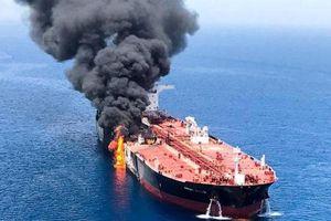 Mỹ cùng đồng minh tố Iran tấn công 2 tàu dầu ở Vịnh Oman, Tehran lên tiếng