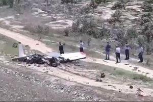 Bộ Chỉ huy Quân sự tỉnh Khánh Hòa tiếp cận hiện trường, xác định nguyên nhân máy bay rơi