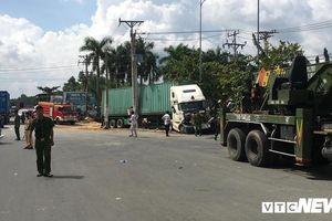 Container gây tai nạn làm 5 người chết ở Tây Ninh: Phó Thủ tướng Trương Hòa Bình yêu cầu xử nghiêm