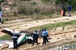 Khánh Hòa: Máy bay quân sự rơi khiến 2 phi công hi sinh
