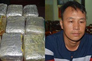 'Sa lưới' khi mang 10kg ma túy tổng hợp từ Lào vào Việt Nam
