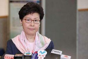 Lãnh đạo Hong Kong tuyên bố hoãn vô thời hạn dự luật dẫn độ