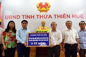 Hà Nội và Thừa Thiên – Huế: Không ngừng tăng cường hợp tác