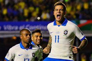 Coutinho lập cú đúp, Brazil thắng đậm ở trận mở màn Copa America