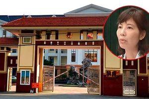 Bà Kim Anh cùng thuộc cấp nhận hối lộ gần 250 triệu đồng tại Vĩnh Phúc