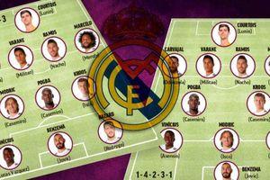 Zidane xếp 2 đội hình Real Madrid để phù hợp với Hazard