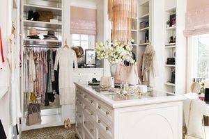 Những gợi ý nhỏ cho phòng thay quần áo sang chảnh hết cỡ