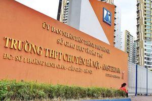 Hà Nội: Đã có điểm chuẩn lớp 10 trường THPT chuyên năm 2019