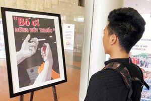 Trao 14 giải Cuộc thi sáng tác tranh phòng, chống tác hại của thuốc lá