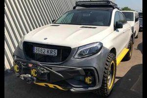 Mercedes-Benz GLE Coupe trở thành 'dân việt dã chính hiệu' nhờ TopCar