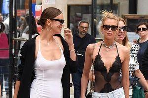 Irina Shayk tươi cười dạo phố sau ồn ào chia tay Bradley Cooper