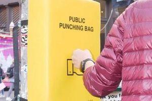 Những 'tấm đệm đấm bốc' giúp người dân New York bớt ức chế