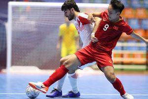 Thắng Tajikistan, U20 futsal Việt Nam vào tứ kết U20 châu Á 2019