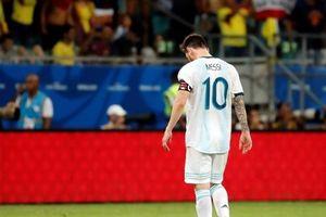 Messi cúi đầu, Argentina gặp ác mộng trận ra quân Copa America 2019
