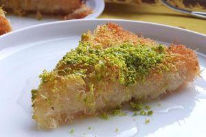 Bánh tráng miệng tạo hình như mì sợi ngon trứ danh Thổ Nhĩ Kỳ