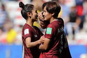 Bàn thắng đầu tiên của Thái Lan ở World Cup nữ 2019