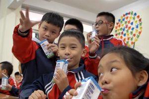 Sữa học đường - Niềm tin qua những việc làm cụ thể