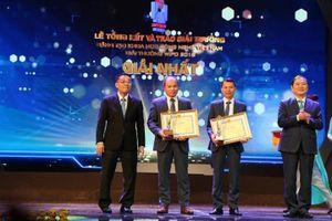 Than Hà Lầm đạt giải Nhất Giải thưởng sáng tạo KHCN Việt Nam