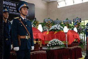 Truy điệu hai phi công hy sinh trong vụ rơi máy bay