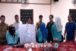 Bắt ba đối tượng người nước ngoài mua bán trái phép 20kg ma túy
