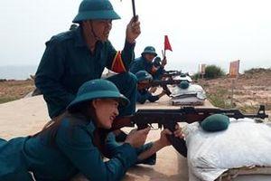 Chú trọng huấn luyện dân quân biển