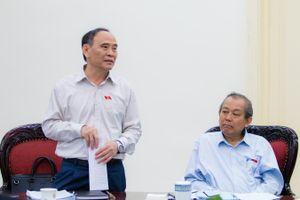 Phó Thủ tướng Thường trực Trương Hòa Bình làm việc với Hội Luật gia Việt Nam về công tác chuẩn bị tổ chức Đại hội đại biểu toàn quốc lần thứ XIII (2019-2024)