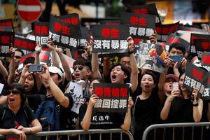'Gần 2 triệu người' biểu tình tại Hồng Kông
