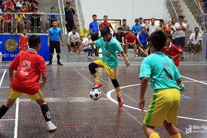 Highlight Bán kết Cúp Báo Nghệ An: Nhi đồng Quỳ Hợp - Nhi đồng Yên Thành 3-0